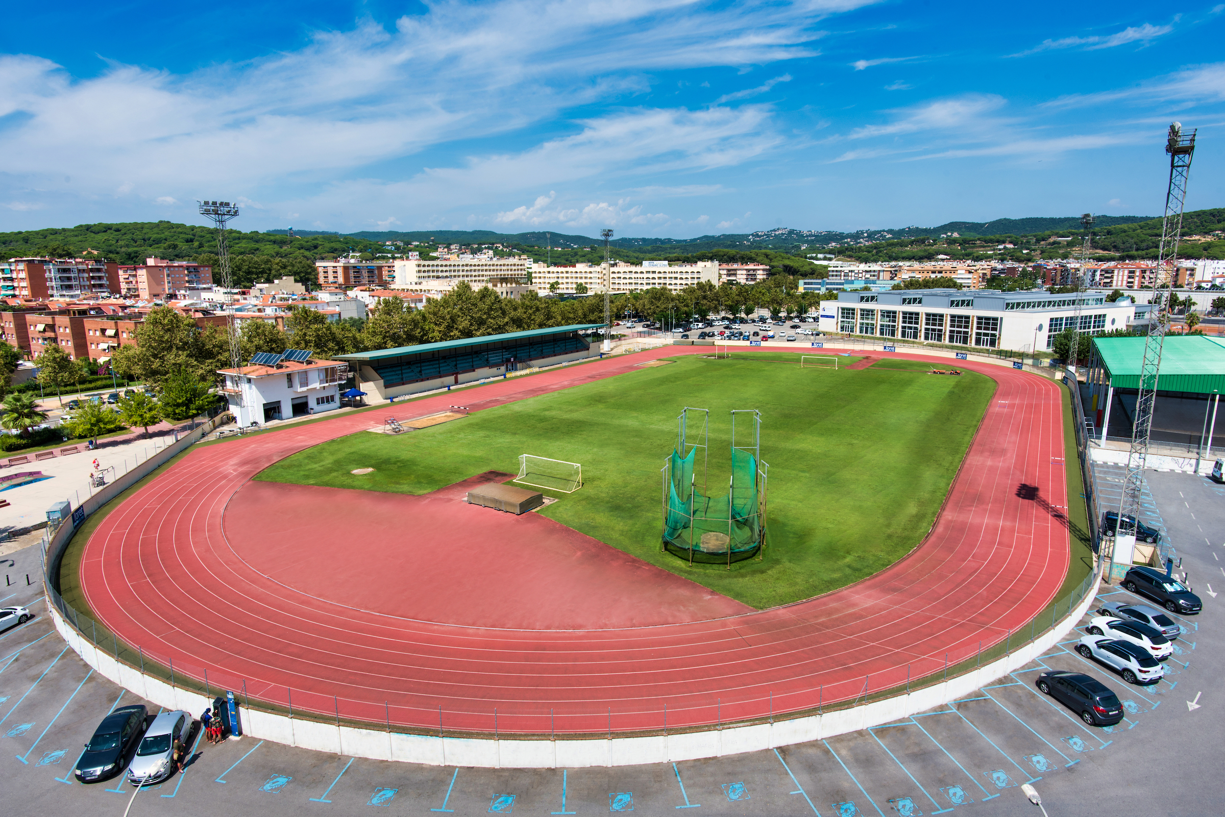 Athletics tracks
